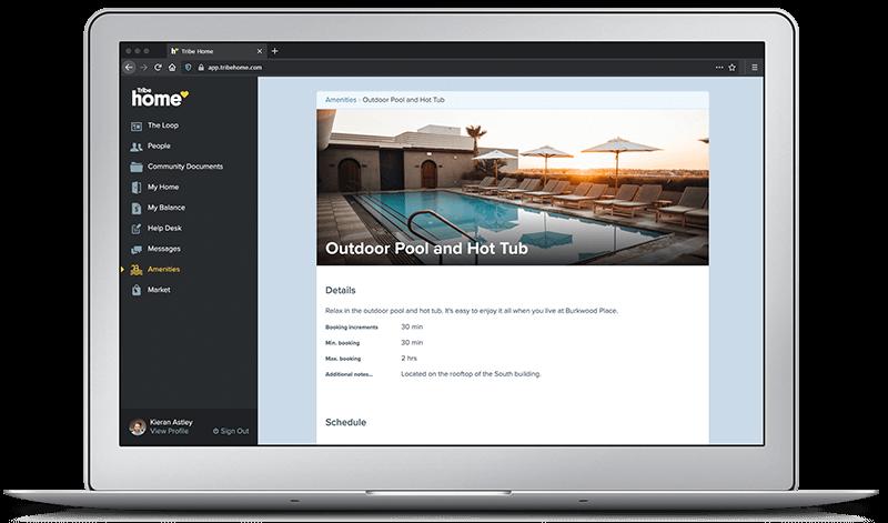 Tribe_Bazinga Amenities   Property Management Software