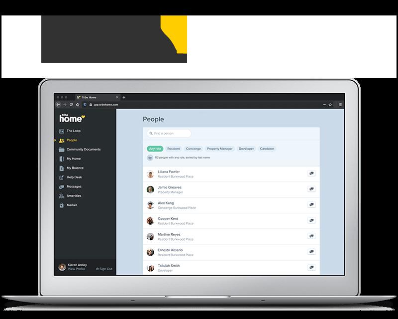 Tribe Home (formerly Bazinga) - Tribe Management