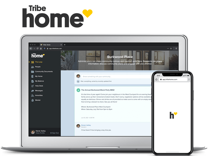 Tribe Home Property Management Software